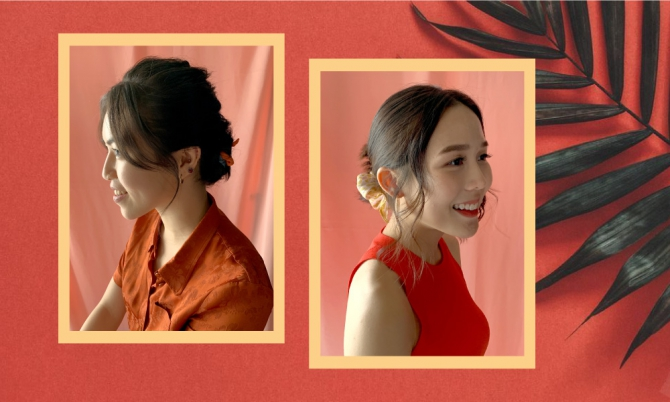 Chinese New Year 2020 Chic Updos You Can Wear To Keep Your Cool In The Heat Buro 24 7 Malaysia